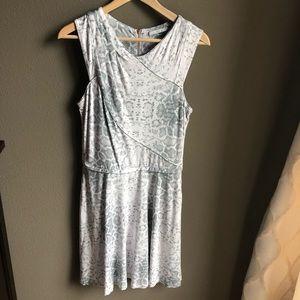 Tart Snakeskin Print Stretchy sleeveless dress
